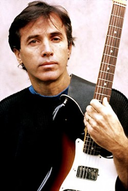 Ry Cooder with Fender Sunburst