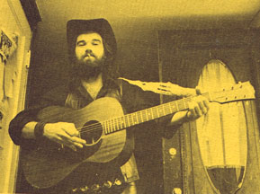 John Lincoln Wright with guitar